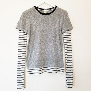 Free People We The Free Layered Striped Thermal